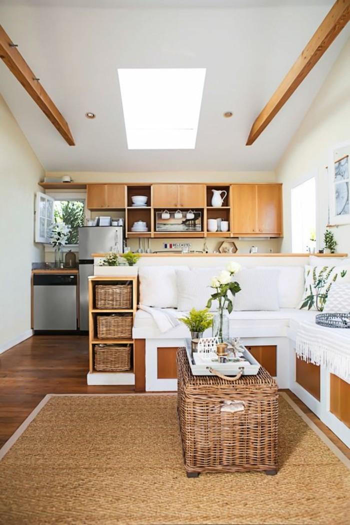 kleine wohnungen einrichten einrichtungstipps Small Apartment Kitchen Storage