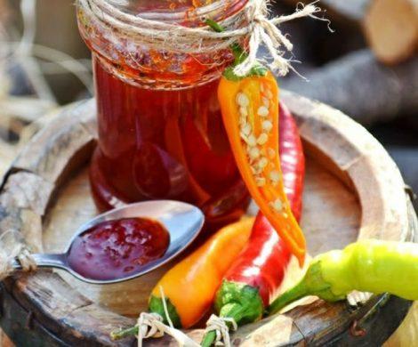 Eine scharfe Marmelade selber machen
