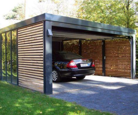 Ein Carport bauen und sich eine persnliche Garage sichern