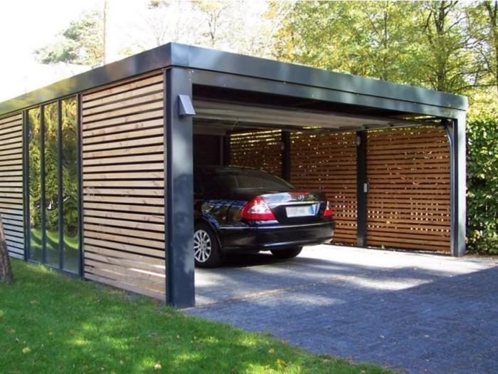 Ein Carport Bauen Und Sich Eine Persönliche Garage Sichern