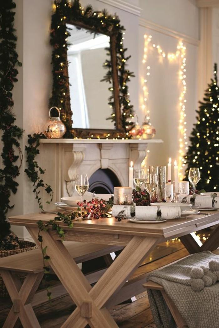 Weihnachtsdeko mit Lichtern fr eine wrmere Atmosphre