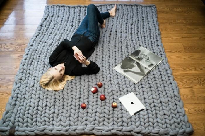 Strickanleitung  eine tolle Decke selber stricken