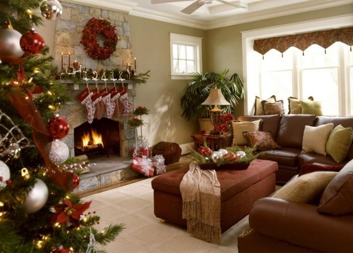 Wohnzimmer Einrichtungsideen  dekorieren Sie das Haus zum