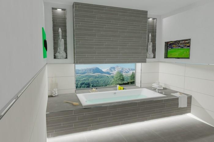 Moderne Badezimmereinrichtung  Trends fr 2017