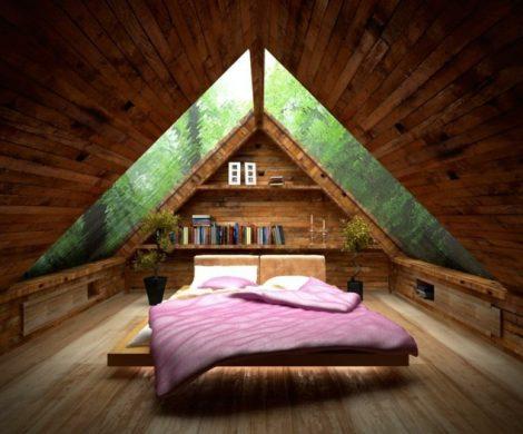 Schlafzimmer mit Dachschrge  Das richtige Bett am richtigen Ort