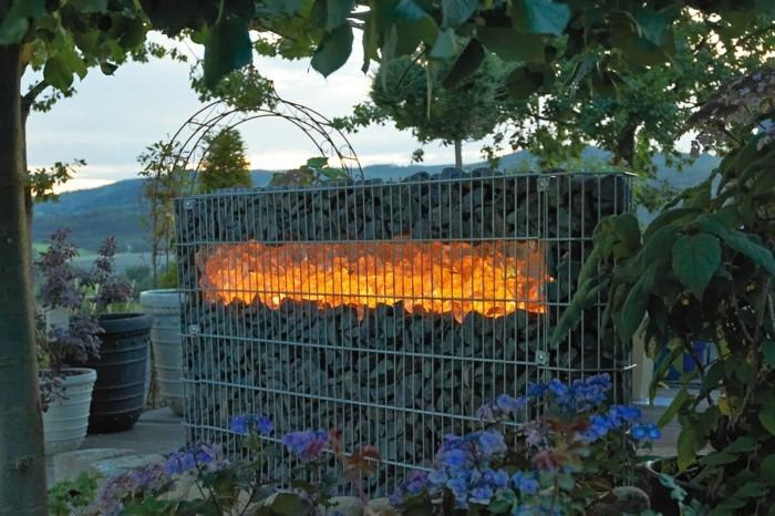 Die personalisierte Gartengestaltung  Gabionen