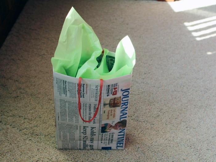 Wunderbare Ideen fr Basteln mit Zeitungspapier