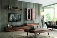 Die attraktive Wohnzimmereinrichtung: Retro-Look