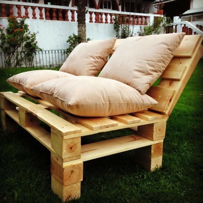 meuble en palette jardin