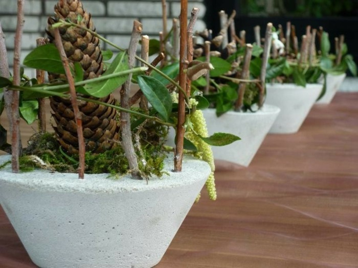 Gartendeko aus Beton Anleitung und 33 kreative Ideen