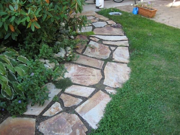 Gartenwege mit Natursteinen fr Hobbygrtner