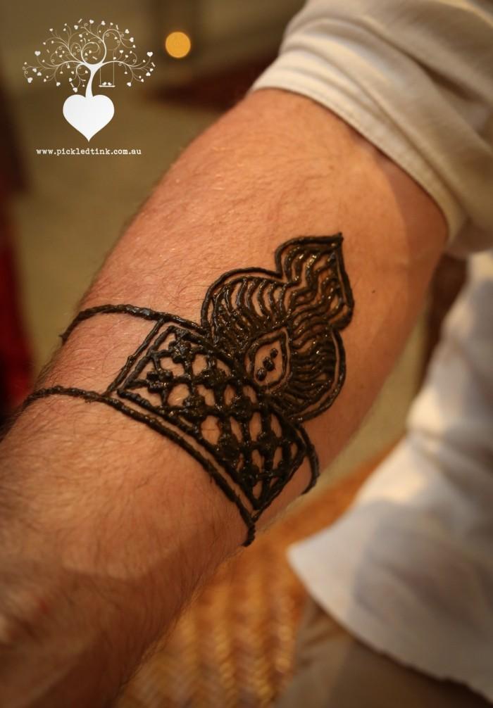 Ideen und Anleitung zum Henna Tattoo selber machen