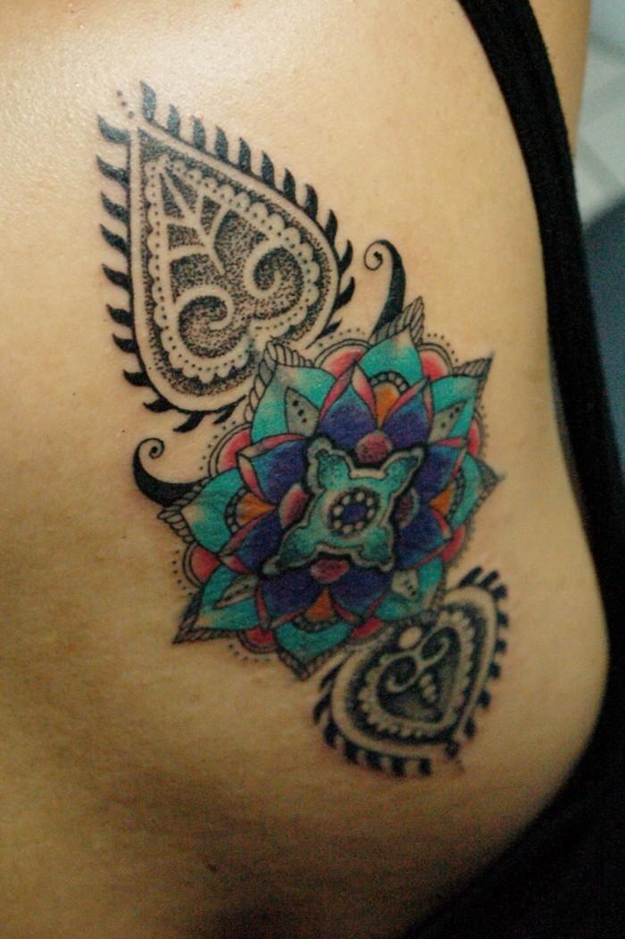 Mandala Tattoo Wissenswertes und 67 Ideen  Wohnideen und Dekoration
