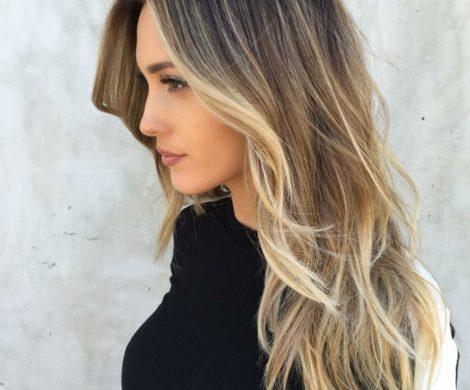 Blonde Straehnchen Frisuren