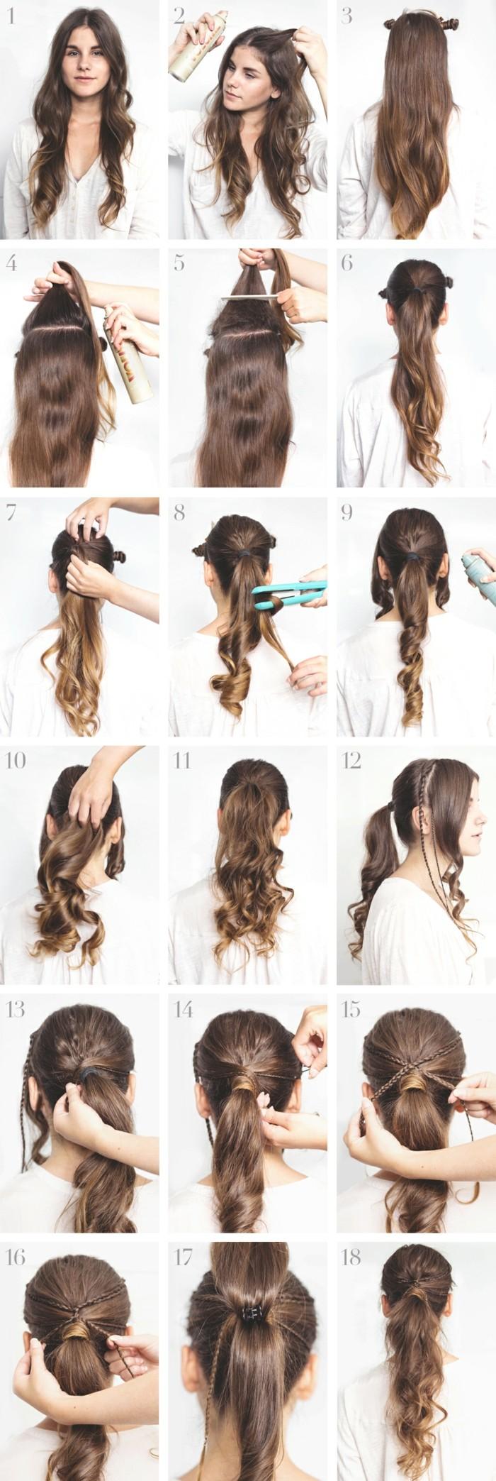 Pferdeschwanz Frisuren Nach Dem Haartyp Inneneinrichtung