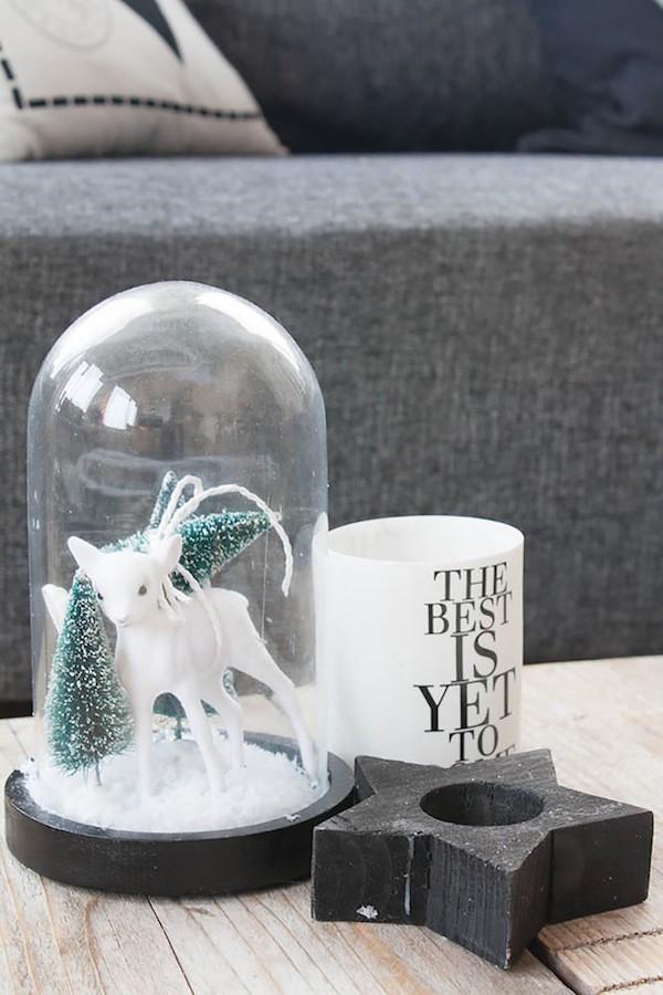 Nrdlichen Wintergenuss durch DIY Weihnachtsdeko verbreiten