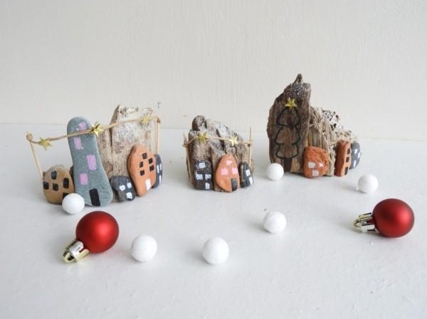 100 kreative Ideen fr Steine bemalen in Weihnachtsstimmung