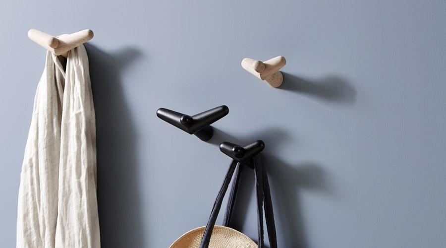 Kreative Wandhaken aus Holz  aktuelle Ideen