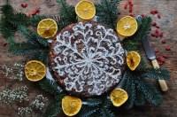 Schoko-Weihnachtskuchen ohne Backen zubereiten