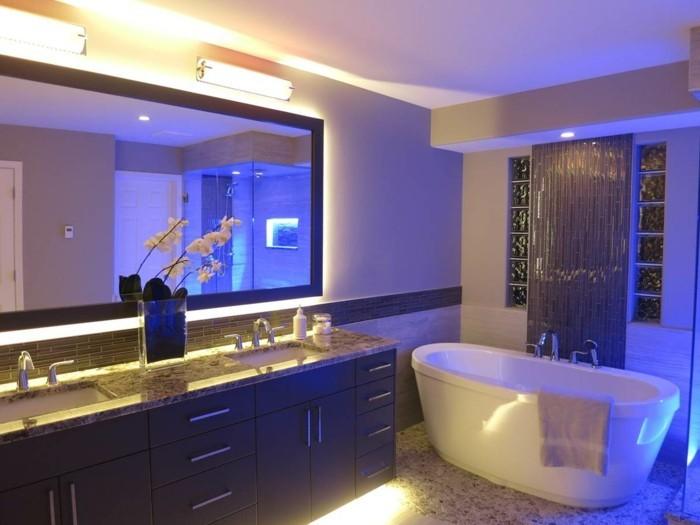 LED im Badezimmer fr besonderes Entspannungsgefhl