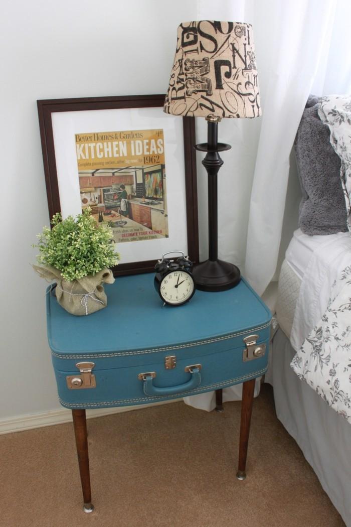 27 Ideen wie man den alten Koffer wieder benutzen kann  Wohnideen und Dekoration