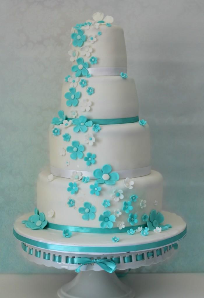 Hochzeitsdekoration in Blau  der Trend fr 2018