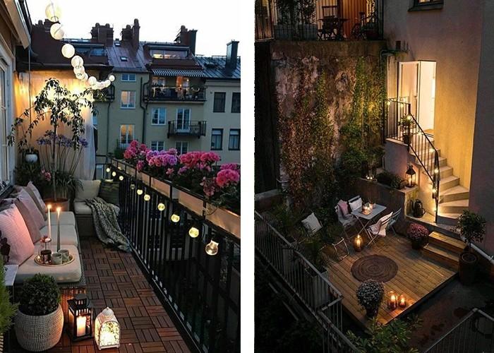So knnen Sie Ihren Balkon gestalten und ihn in einen