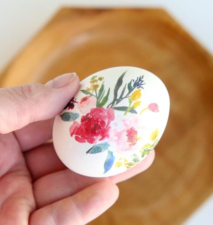 5 Ideen wie man die Ostereier frben und dekorieren kann