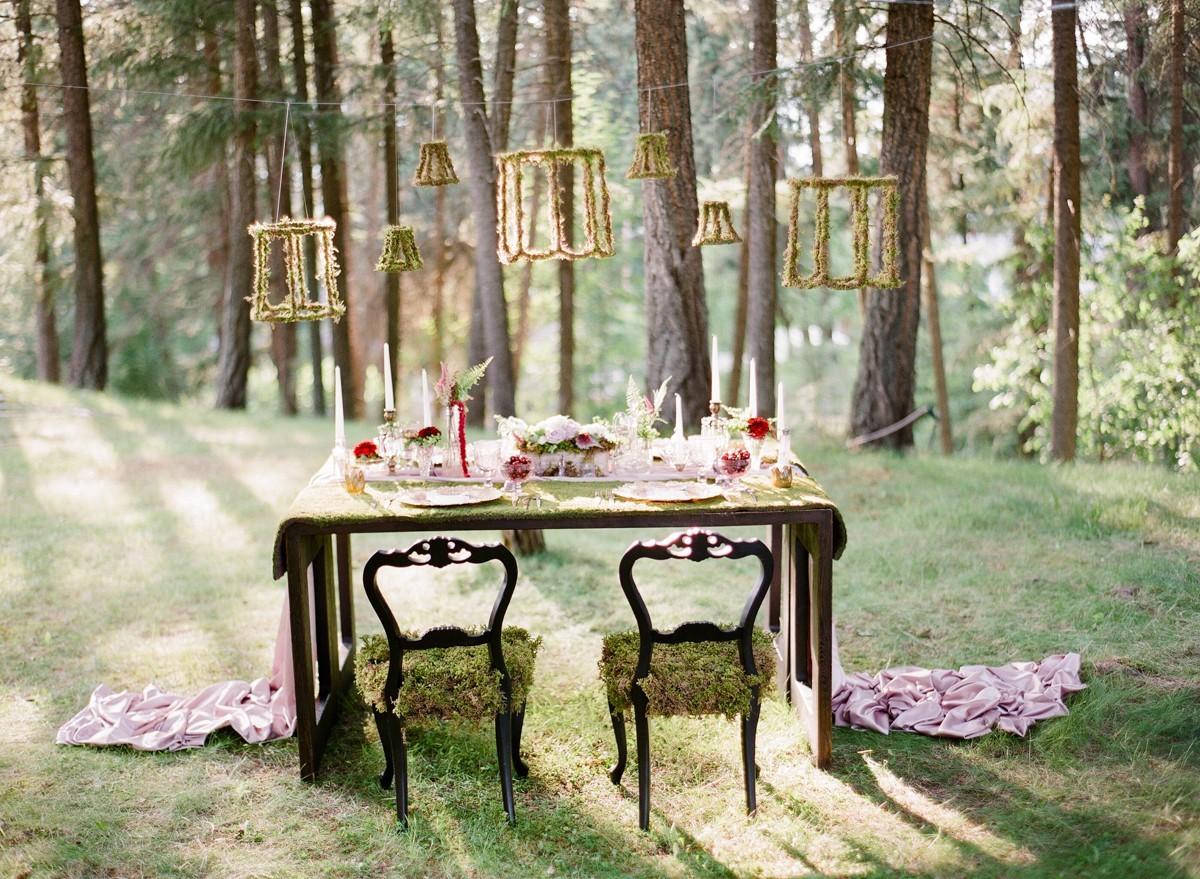 Hochzeit drauen Daran mssen Sie denken wenn Sie im WaldPark feiern  Wohnideen und Dekoration