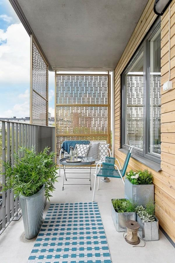 50 Ideen wie man die kleine Terrasse gestalten kann