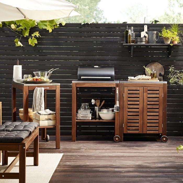 outdoor bbq kitchen small kitchens ideas ideen und tipps für die außenküche im garten