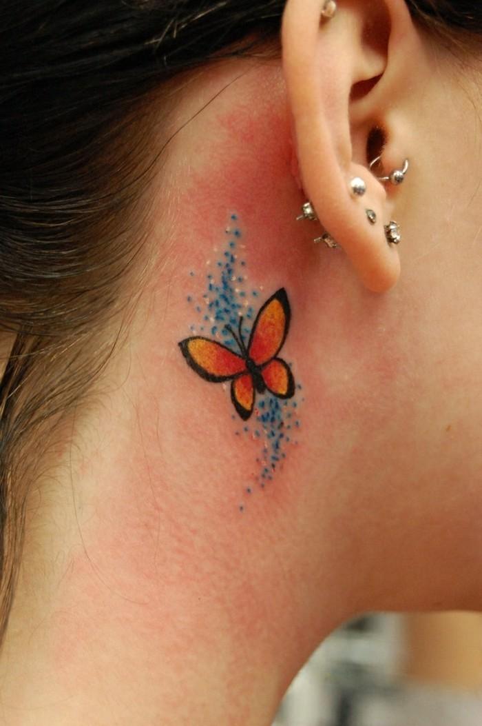Schmetterling Tattoo  Symbolik Bedeutung und Modelle