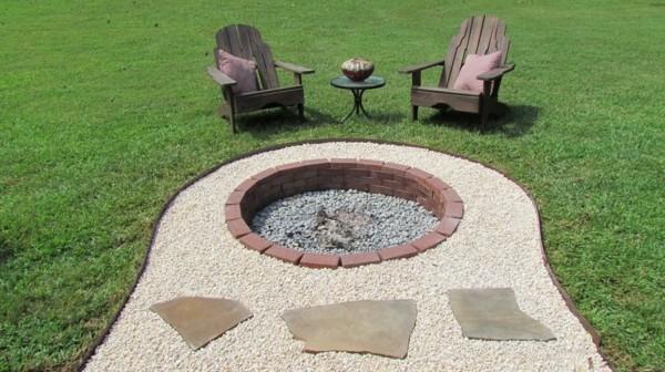 Feuerstelle selber bauen in 4 einfachen Schritten