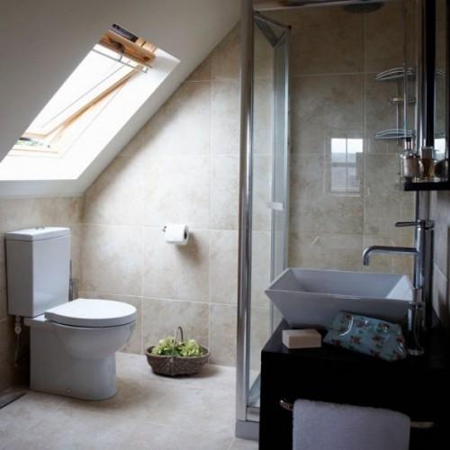 Kleines Badezimmer platzsparend einrichten  Ideen