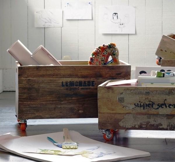 120 Holzkisten DekoIdeen mit rustikalem Flair  Wohnideen