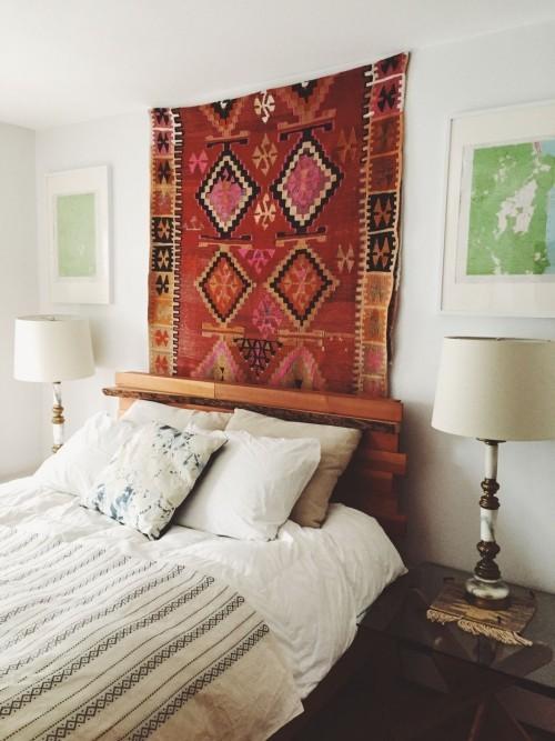 Schmckend und praktisch Wandteppiche  Wohnideen und Dekoration