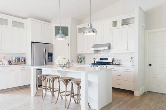 So Sieht Die Perfekte Weiße Kücheneinrichtung Aus