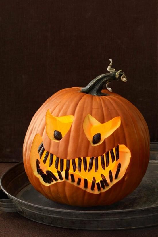 30 Ideen Zum Halloween Krbis Schnitzen
