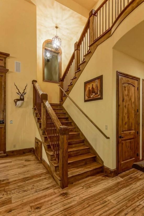 Einfache und stilvolle Renovierung  Treppenhaus Ideen