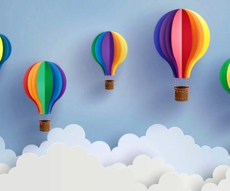 Heiluftballon basteln und die Lfte vom eigenen Zuhause