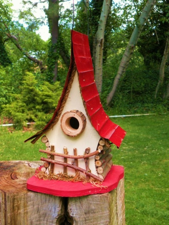 sofa design ideas cushion refilling 30 schöne und kreative vogelhäuschen designideen