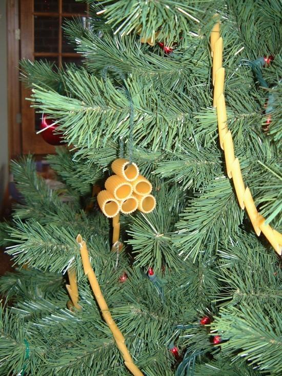 50 Ideen fr basteln mit Nudeln zu Weihnachten