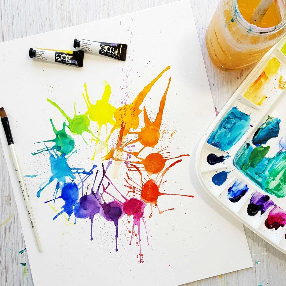 Komplementre Farben und allgemeine Farbenlehre in der