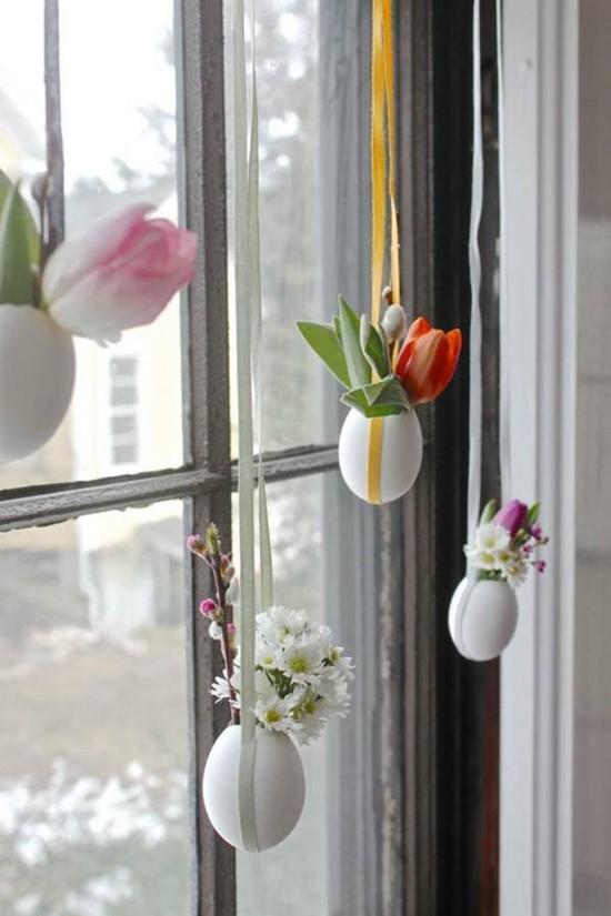 Fensterbank Deko  40 stimmungsvolle Dekoideen zu Ostern
