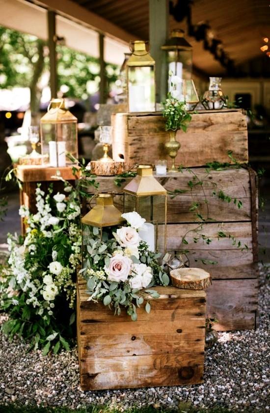 75 Obstkisten Deko Ideen zur rustikalen Hochzeit
