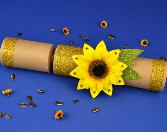 80 frische Ideen und 2 einfache Anleitungen zum Sonnenblume Basteln  Wohnideen und Dekoration