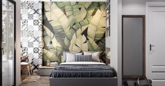 aktuelle tapeten trends schlafzimmer  trend farbe farbe