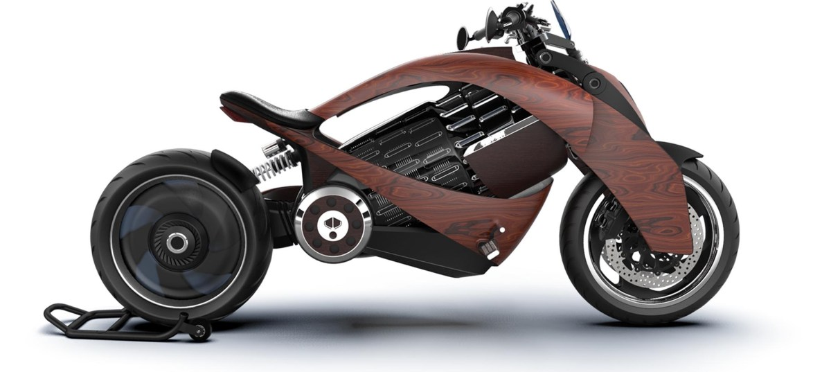 Newron EV1 electric motorcycle