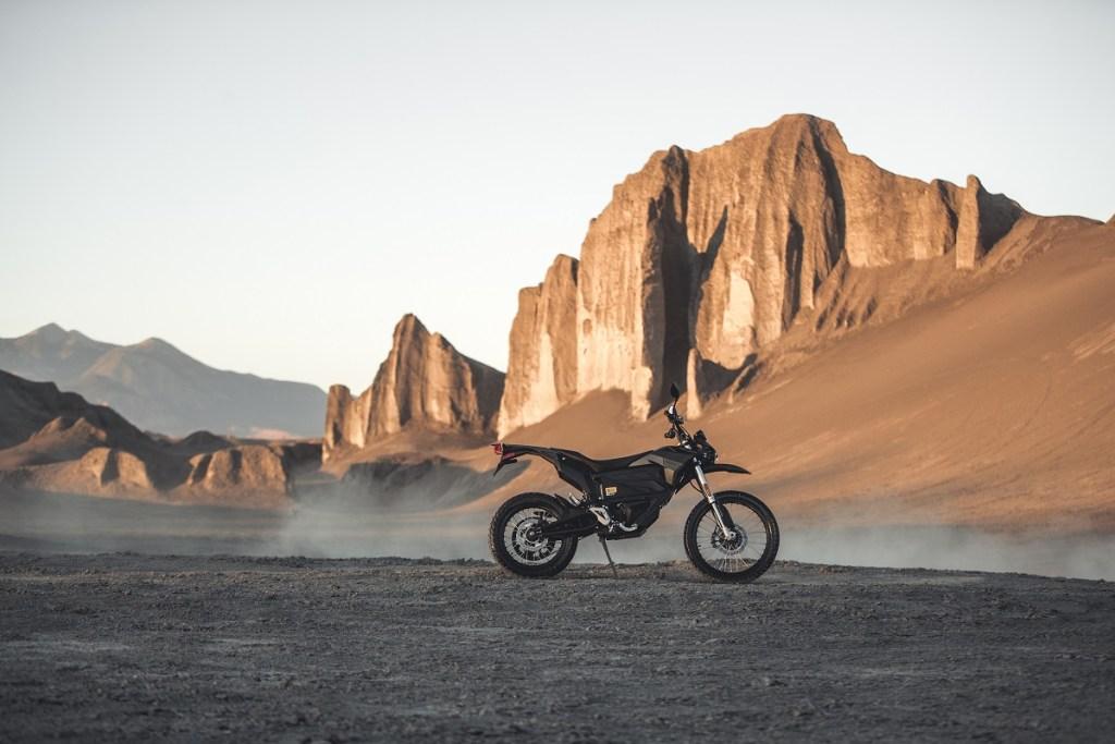 Zero FX Electric motorcycle