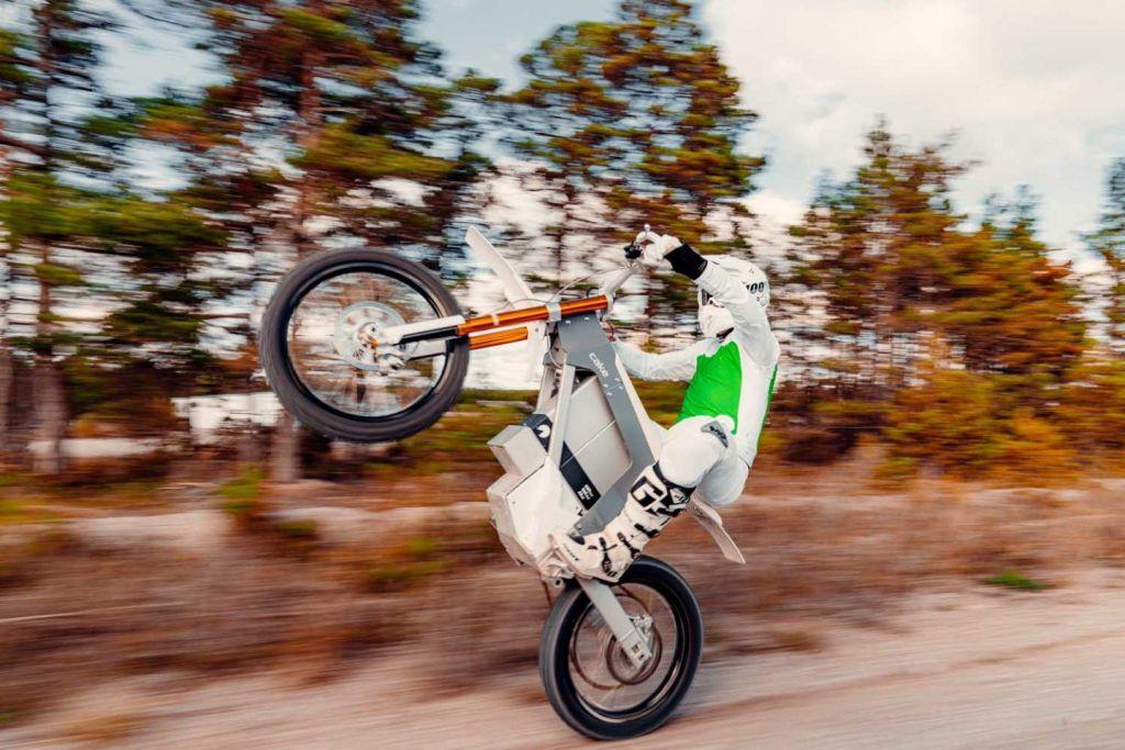 Cake Kalk electric motorcycle